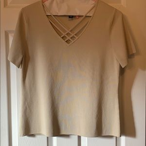 very nice Cable and Gauge dry cleaned xl top